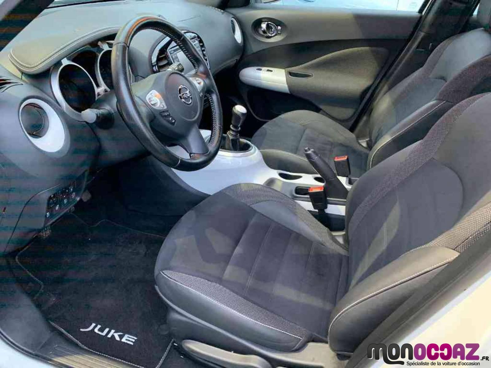 NISSAN Juke 1.5 dCi 110 FAP Start/Stop System - véhicule d'occasion - MonOccaz.fr - MonOccaz.fr - 89140 - Pont-sur-Yonne - 6