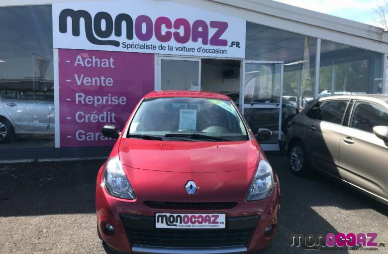 RENAULT Clio III dCi 70 115g eco2  20th - véhicule d'occasion - MonOccaz.fr