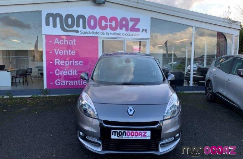 RENAULT Scenic III dCi 130 FAP Energy eco2   - véhicule d'occasion - MonOccaz.fr