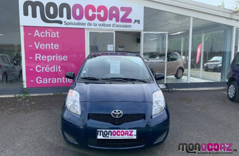 TOYOTA Yaris 1.0 - 69 VVT-i  In - véhicule d'occasion - MonOccaz.fr